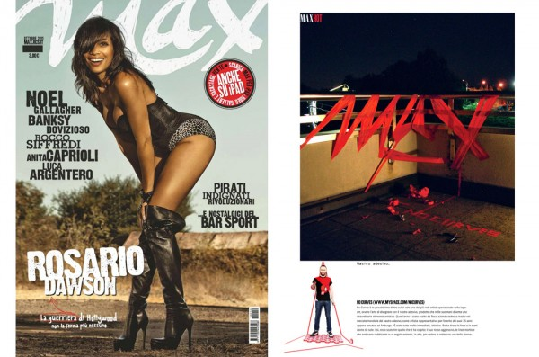 NO CURVES for MAX MAGAZINE | OCTOBER 2011
