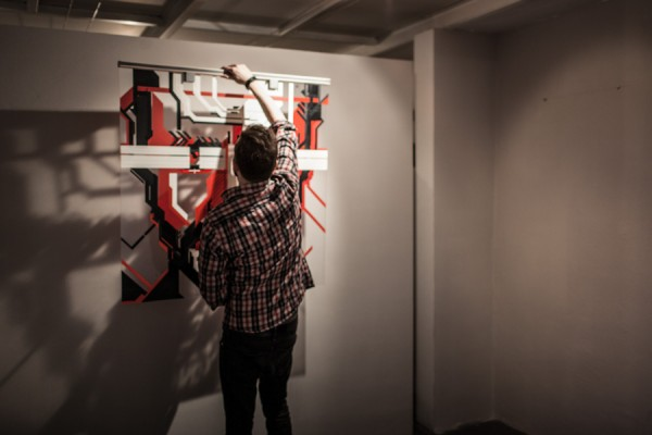 / tape art @Avantgarden Gallery (10)