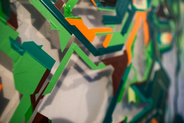 / tape art @Avantgarden Gallery (8)