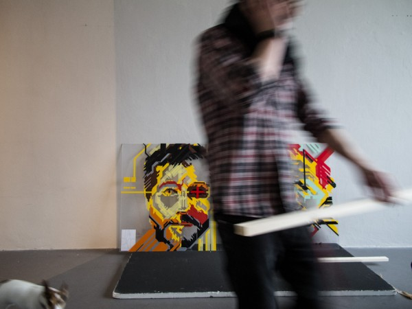 / tape art @Avantgarden Gallery (18)