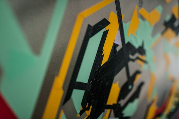 / tape art @Avantgarden Gallery (16)