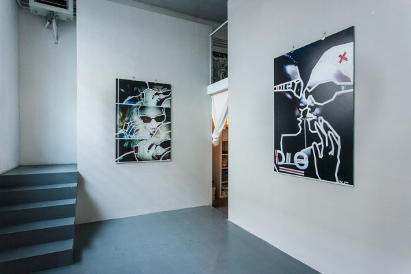 Top of the Lines / No Curves -tape art solo show @avantgardengallery milan - ph. Marco Montanari 2013 (8)