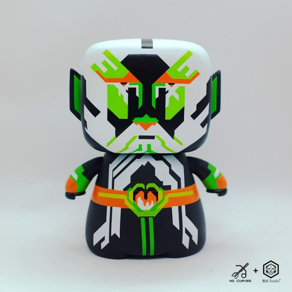 老子 LAOZI - Limited Edition Toy // NO CURVES for BLK Studio China (1)