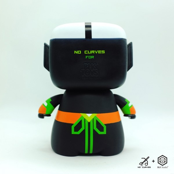 老子 LAOZI - Limited Edition Toy // NO CURVES for BLK Studio China (3)